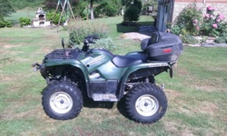 Yamaha grizzly 550 injection 4x4 for Yamaha grizzly 50